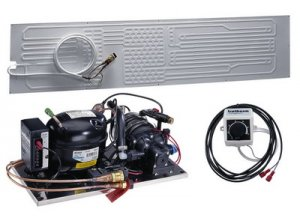 Compact Water-Cooled 2507 Large Flat Evaporator