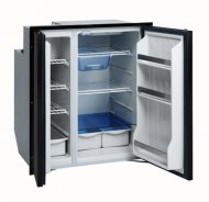 Isotherm Cruise 200 Fridge/Freezer Black Door AC/DC