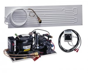 Compact Water-Cooled 2511 Flat Evaporator