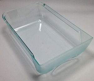 Clear plastic bin for CR200