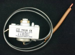 Overheat Thermostat for Basic and Slim Water Heaters