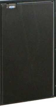 CR200 Door complete black refrigerator