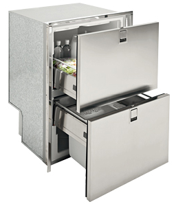 Isotherm Drawer 160 Freezer both drawers with icemaker, Flush mount