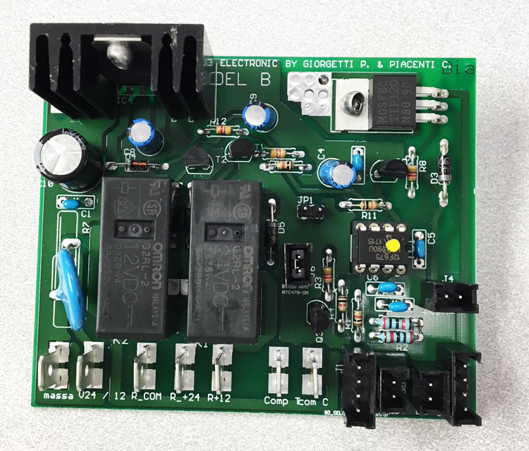 Frost-free circuit board Drawer 55