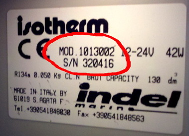 Model Number Label