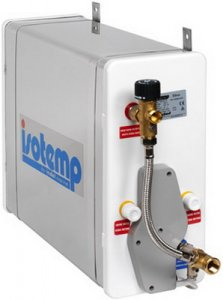 SLIM SQUARE water heater, 16L, 4.2 gal, 230v/750w