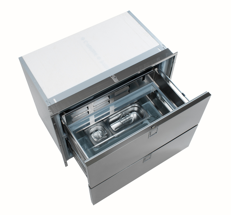 Isotherm Double Drawer 190 Refrigerator Stainless Steel